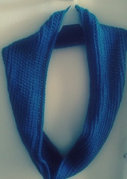 It Looks Like Knit! Circle Scarf