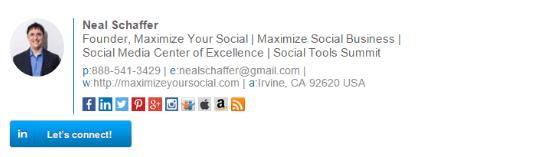 professional email signature design