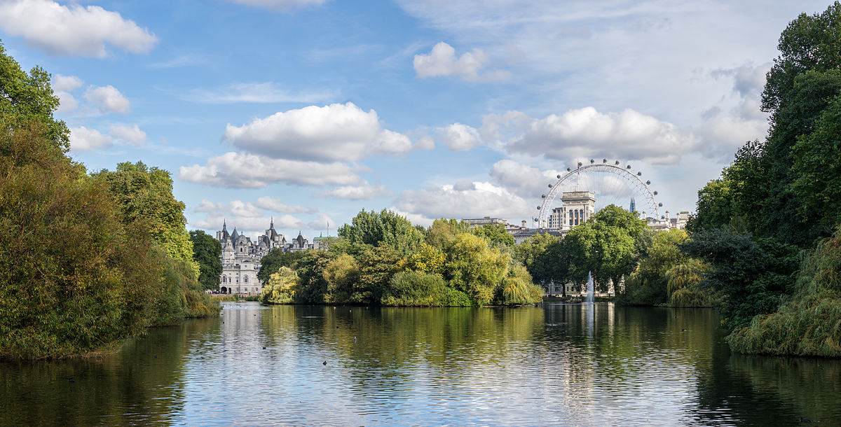 Parks in London - St James's