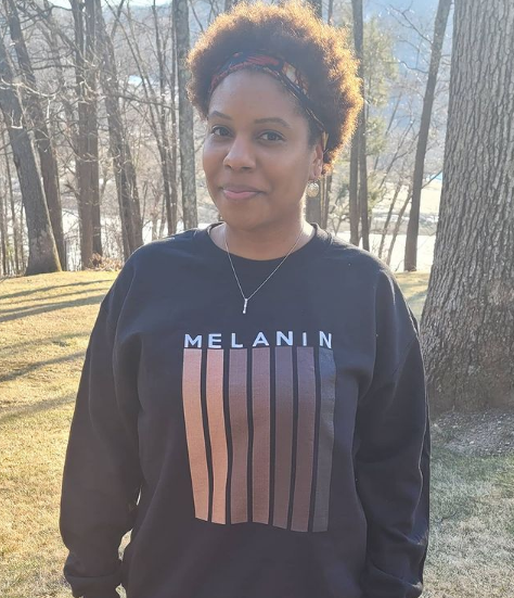 Quiana Agbai in the forest | Black Influencers Featured on Afluencer