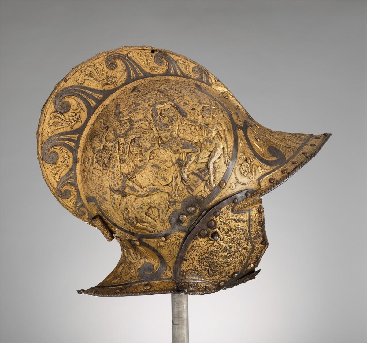 Mũ giáp chiến chính là những thiết kế bảo vệ phần đầu người dùng từ xa xưa