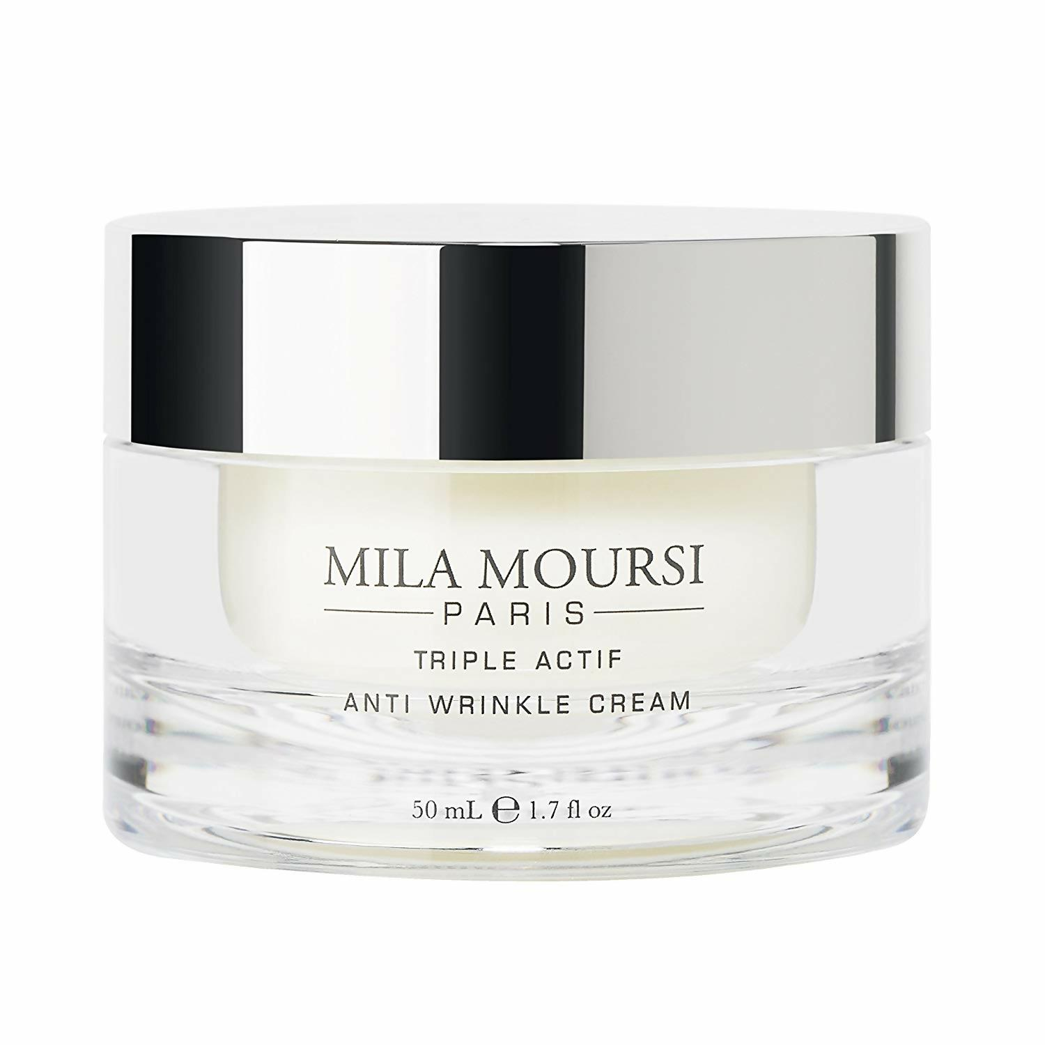 mila moursi, anti-wrinkle cream