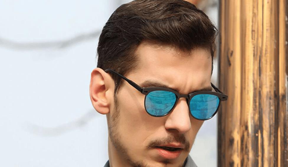 semi rimless sunglasses men aliexpress