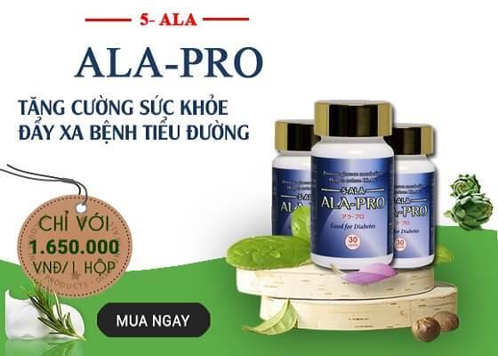 Thuốc trị tiểu đường Ala Pro có tốt không ? Mua TPCN Ala Pro ở đâu ?