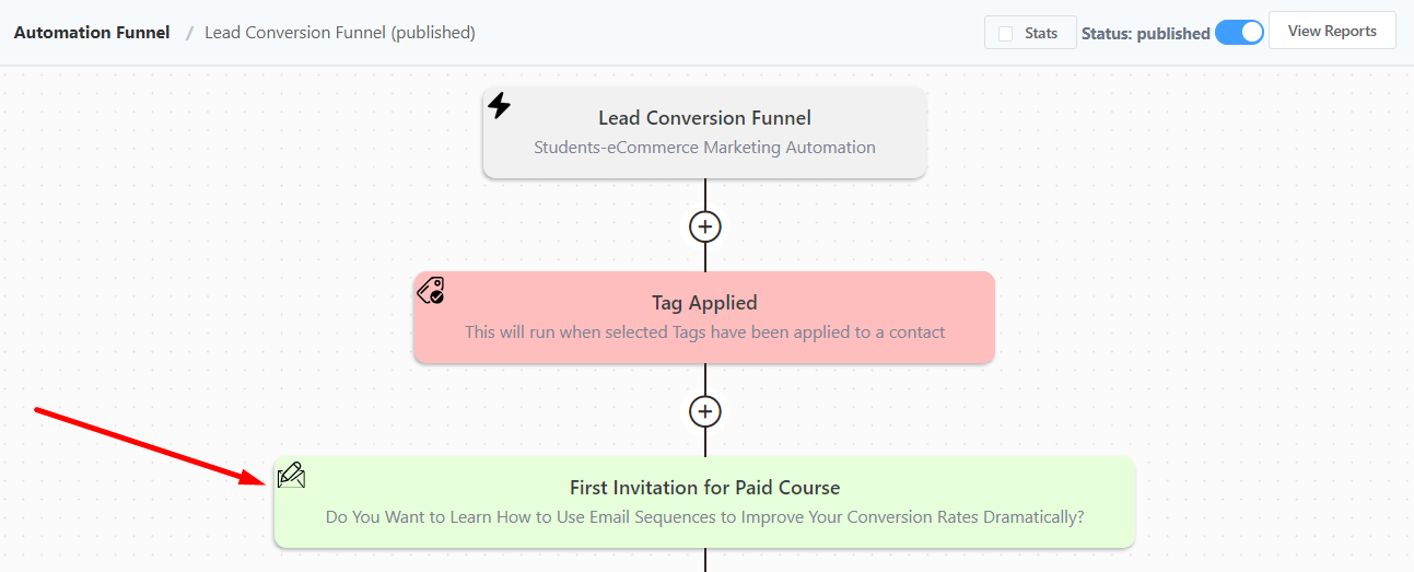 learndash paid course email, creating a learndash sales conversion funnel
