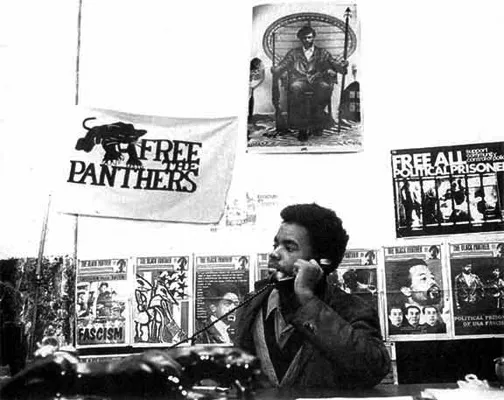 As a teenager in 1970, Minister of Information Mumia Abu-Jamal was a journalist writing for the Black Panther Newspaper. – Photo: Philadelphia Inquirer