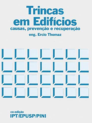Capa do livro trincas em edifícios de Ercio Thomaz