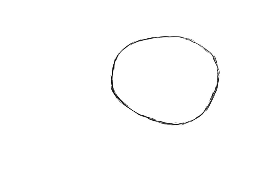 simple oval