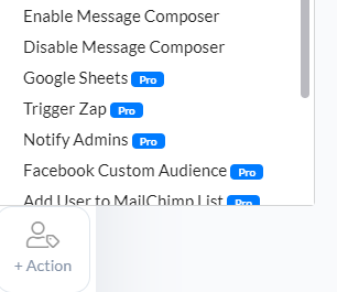 Enable/Disable Message Composer