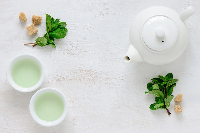 green tea is good for the skin