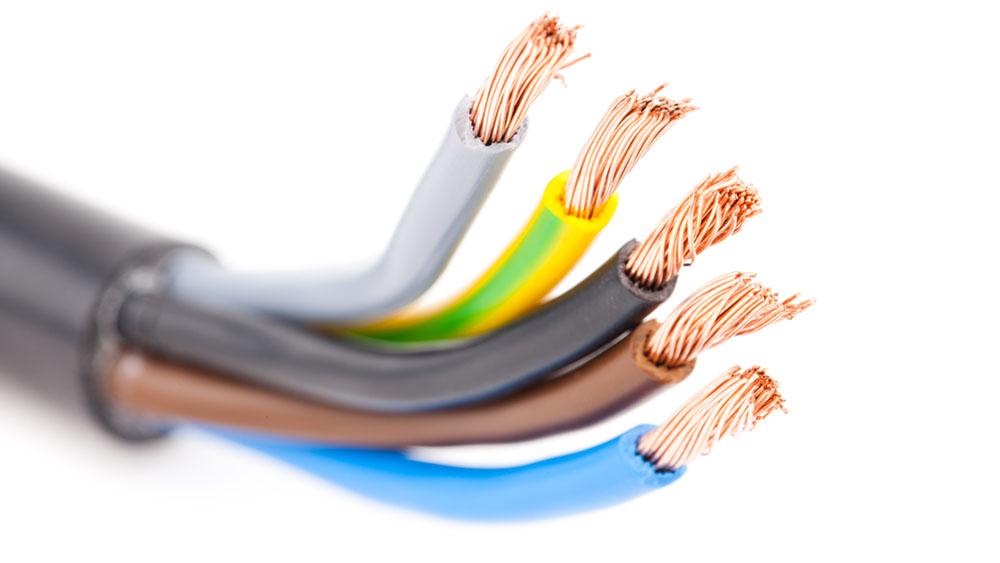 Tipos de cables eléctricos