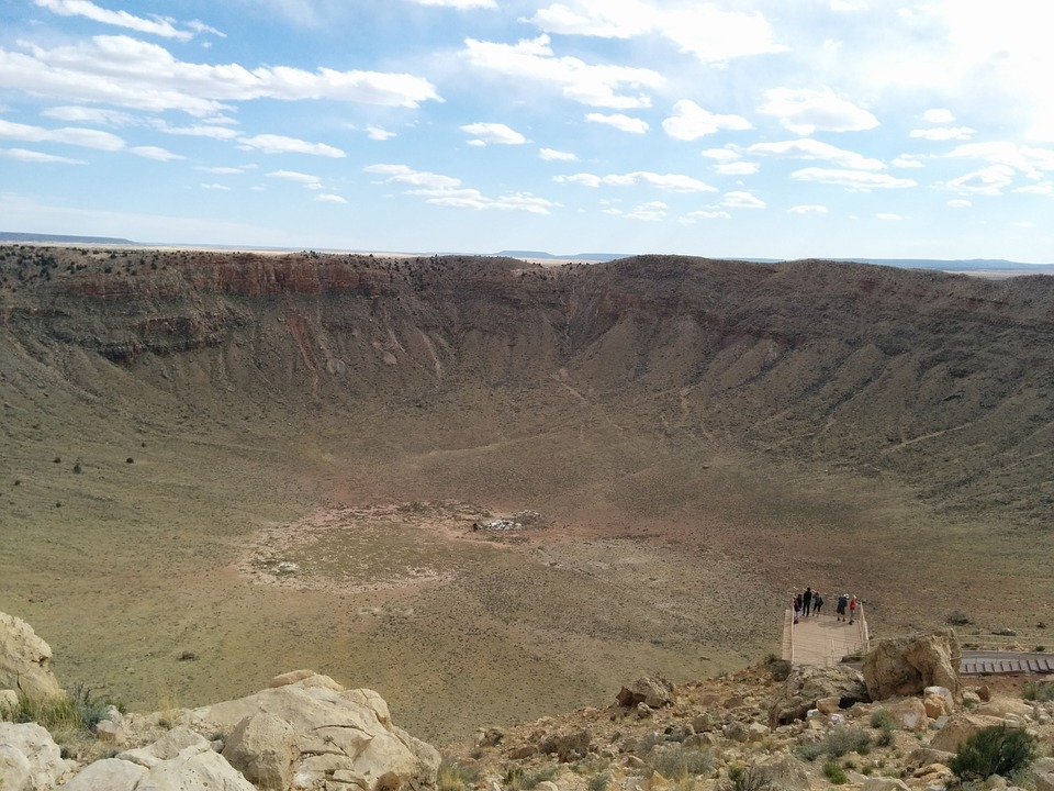 Crater, Meteor, Astronomy, Meteorite, Impact, Planet