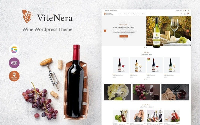 Fastest WooCommerce themes - ViteNera