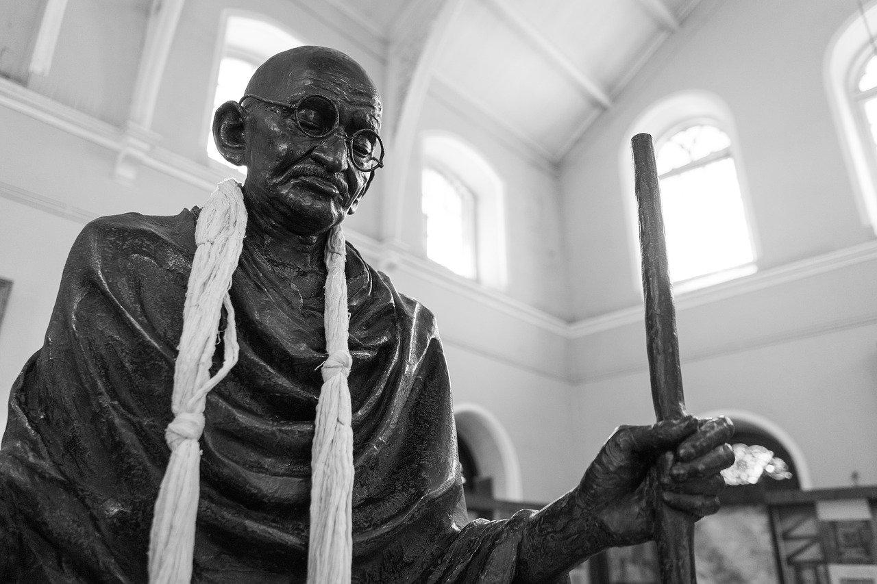 শেষ বয়সে মহাত্মা গান্ধী