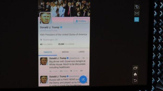 Trump no Twitter