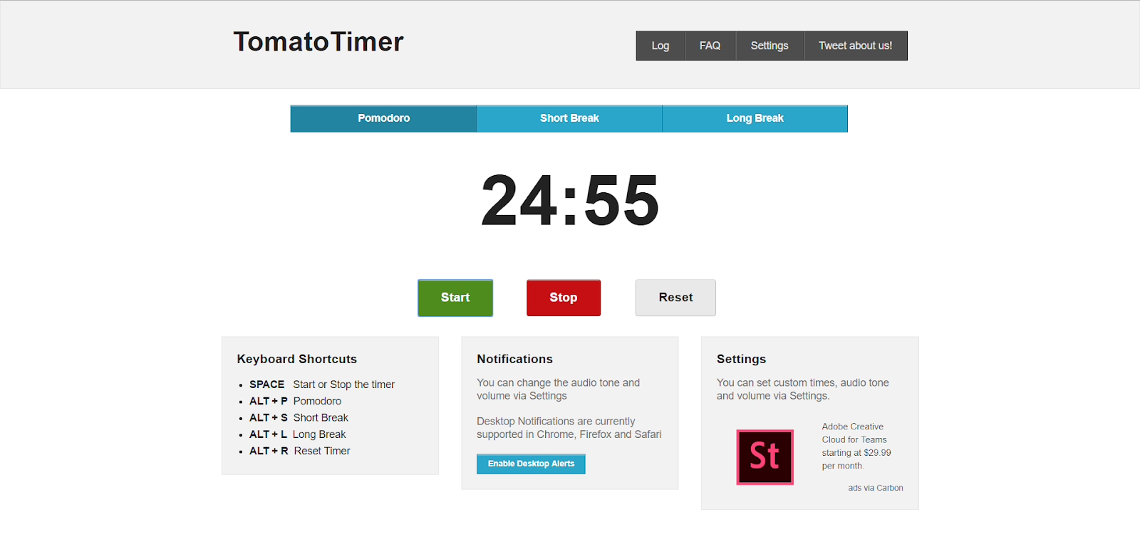 how tomato timer works
