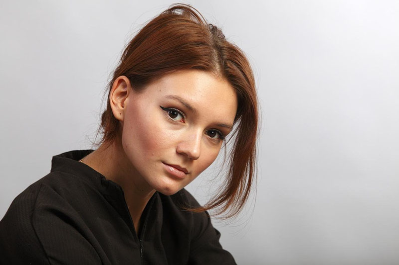 Popular Russian TV actress Daria Egorova: