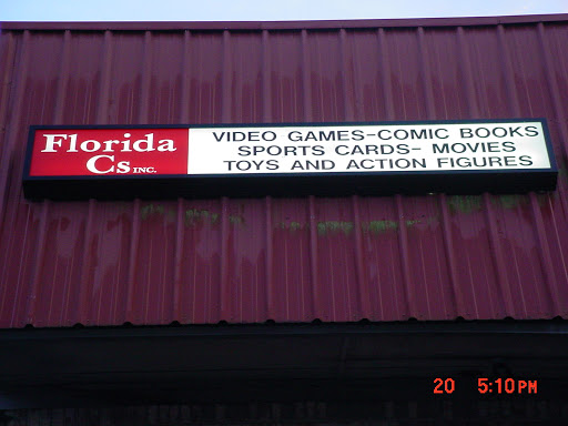 Florida Cs - We buy & sell video games, comics, DVDs, action figures