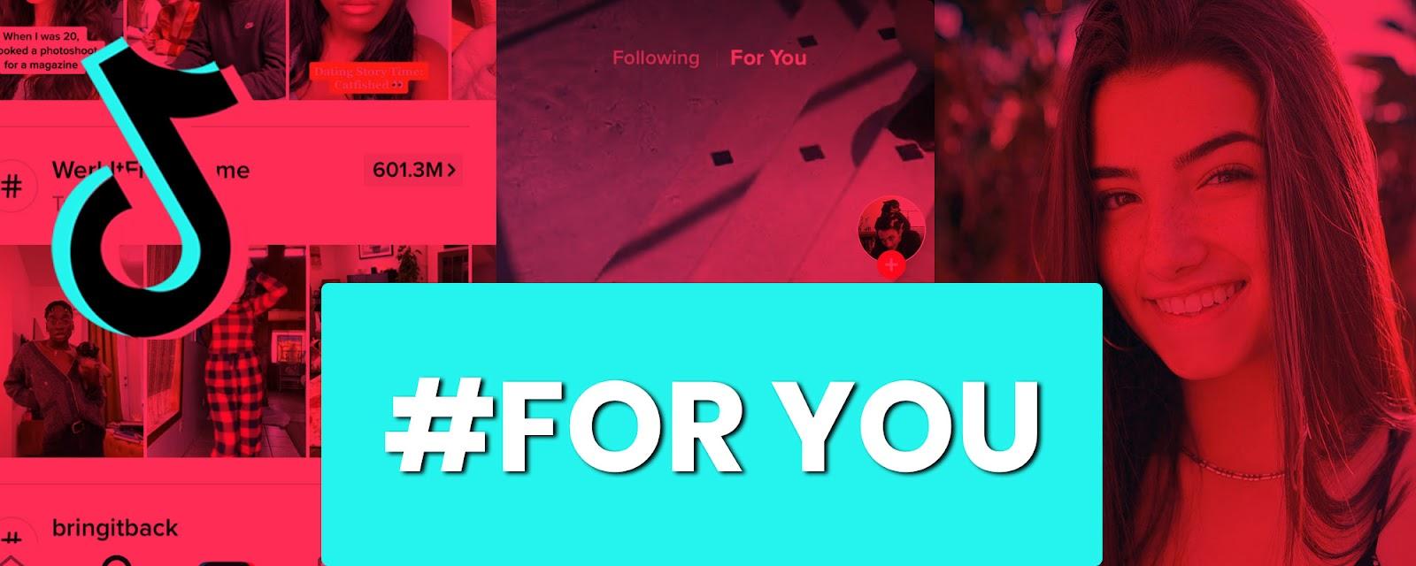 Tính năng FYP của TikTok cho phép bạn theo dõi những xu hướng mới nhất (Ảnh: influencermarketinghub.com)