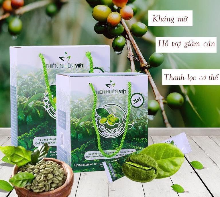 Cà phê giảm cân thiên nhiên việt, một trong những sản phẩm hot nhất hiện nay