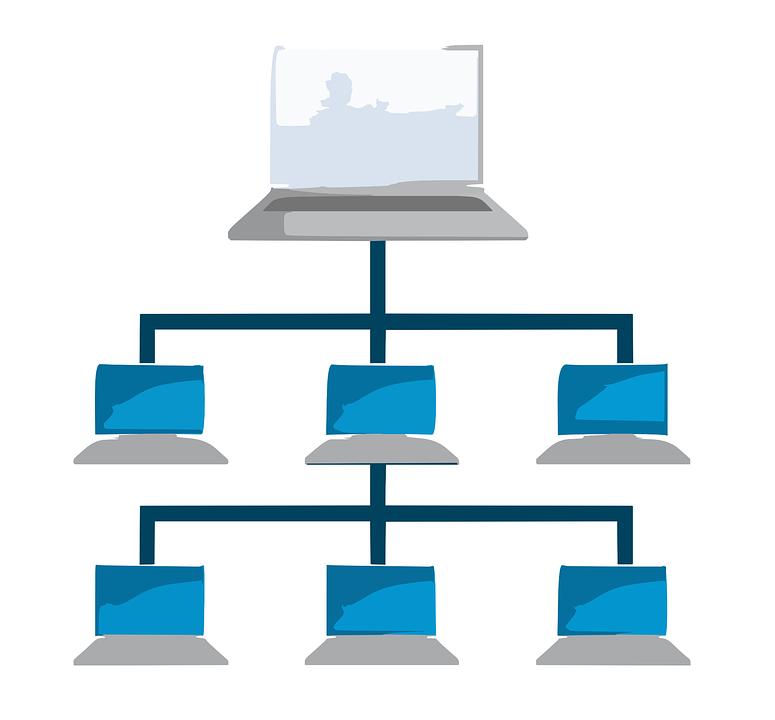 Computer, Network, Tiered, Lan, Server, Workstation