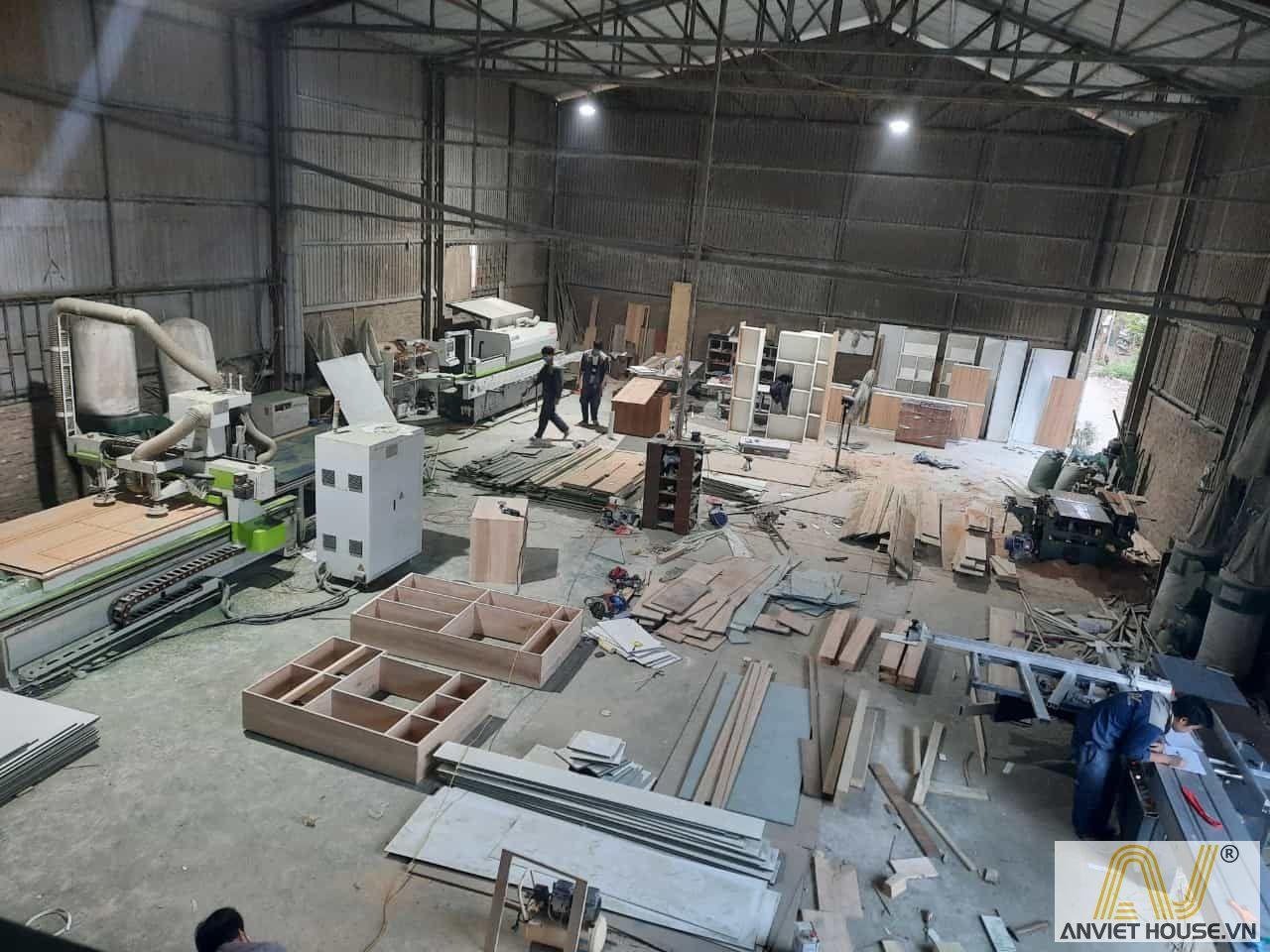 Xưởng sản xuất nội thất
