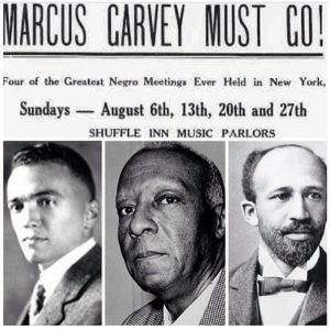 "A flyer reading ""Garvey Must Go!"""