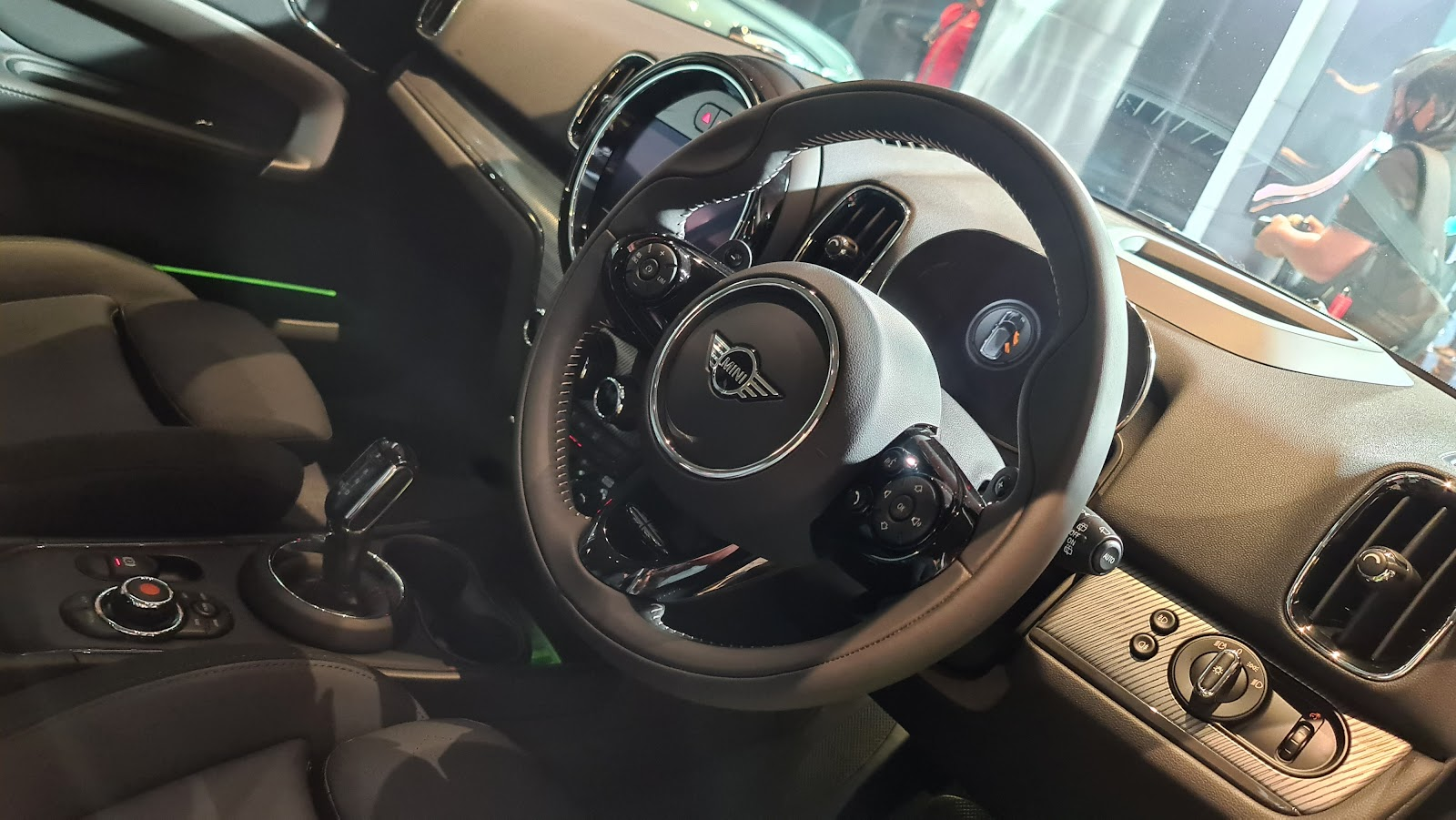 2021 MINI Cooper S Countryman Walknappa leather steering wheel