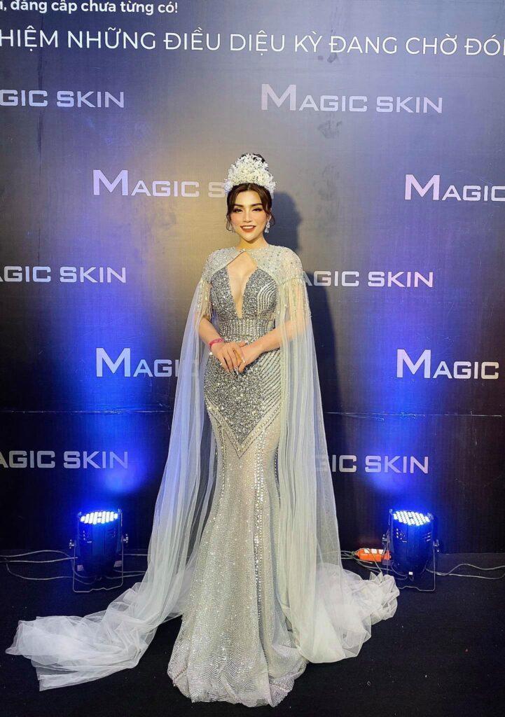 CEO Hà Thúy được vinh danh Á hoàng doanh nhân Magic Skin 2020 - Ảnh 3