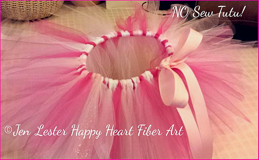 Ribbon No Sew Tutu Jen Lester Happy Heart Fiber Art 10