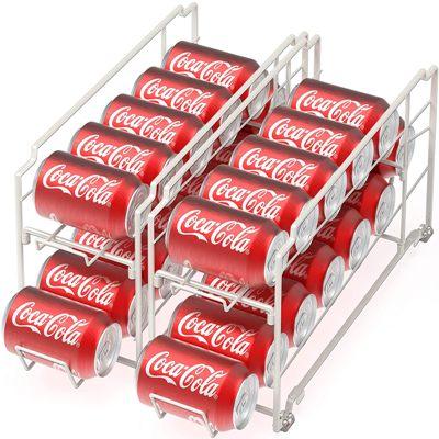 Soda Can Dispenser for Refrigerator