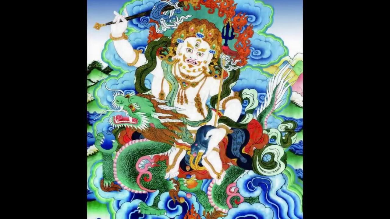 White Jambhala --- Dzambhala Mantra --- Thần chú Bạch Tài Thần ...