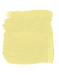 soft lemon house paint swatch