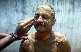 sand-bath