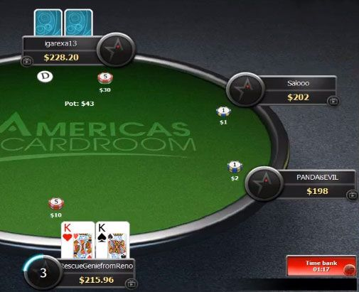 kings best poker tips from a cash game
