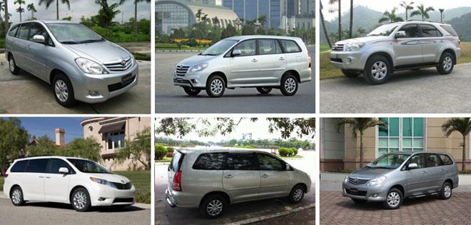 Các bạn nên chọn loại xe 7 chỗ được trang bị đầy đủ tính năng an toàn