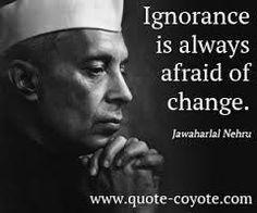 Image result for jawaharlal nehru words