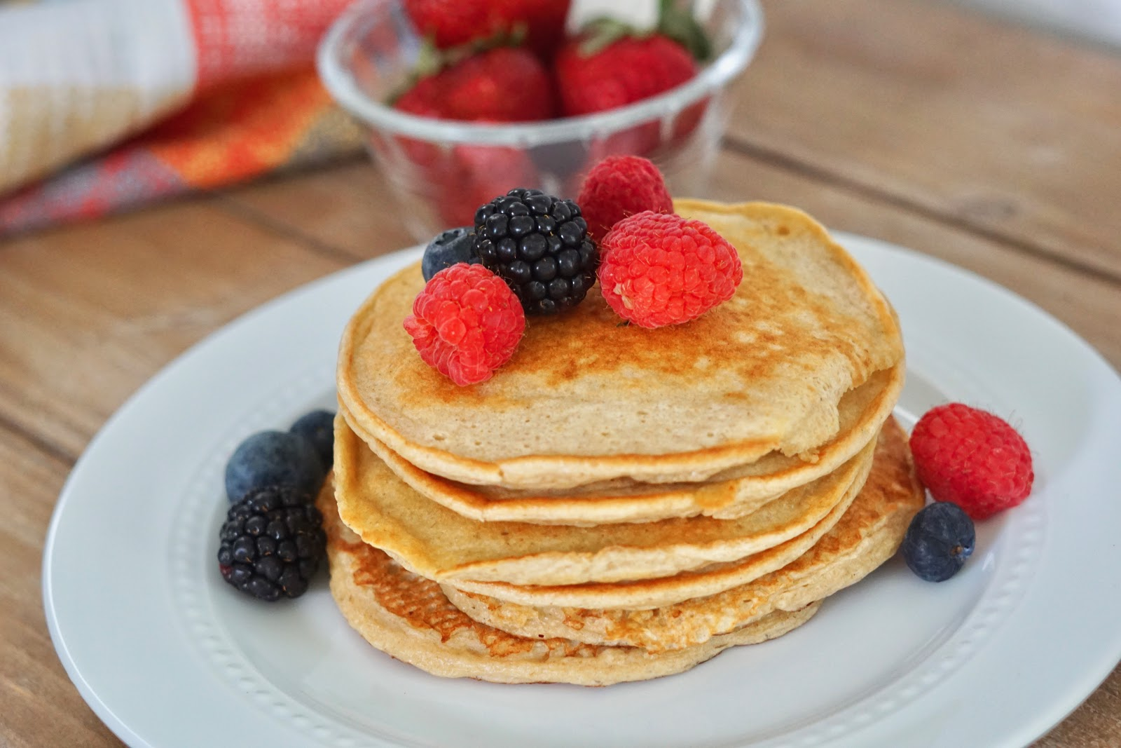Deidra mangus, Peanut butter protein pancakes, natural peanut butter, cottage cottage, healthy breakfast recipes