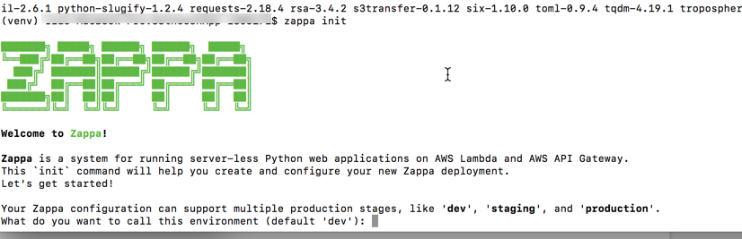 How to deploy Alexa Skill Code to AWS Lambda using Zappa