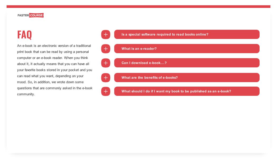 FAQ Content