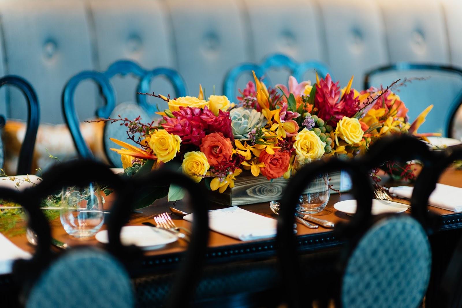 Wedding Flowers: Reception