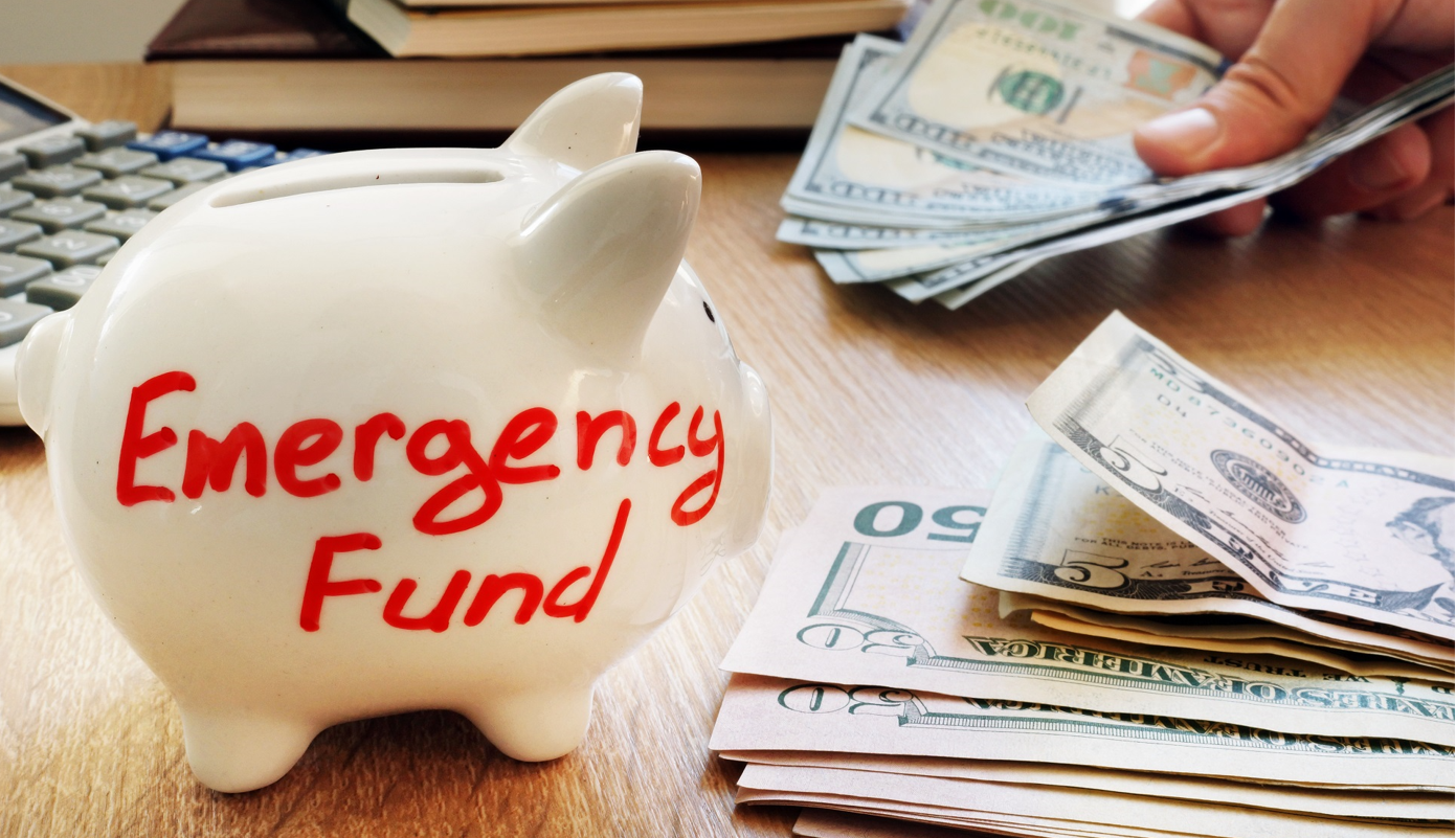 Start investing in an emergency fund