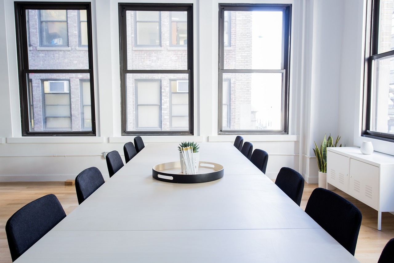 chairs-empty-office-room-table-how to run an office