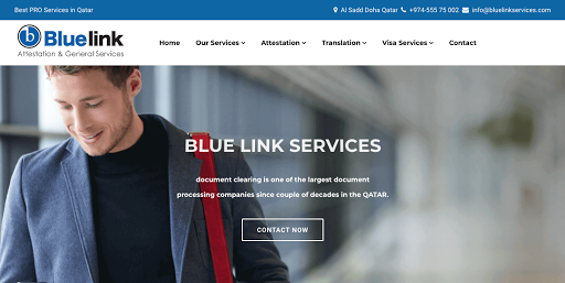 Blue Link services - Visa Consultant in Al sadd, Doha