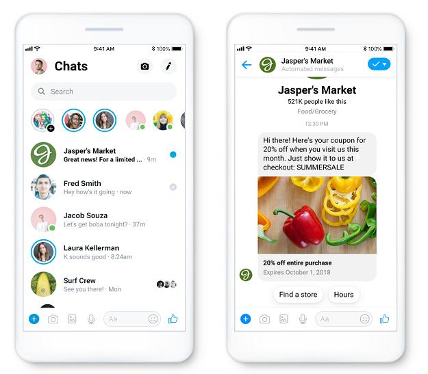 Facebook Messenger Ads: Sponsored Messages