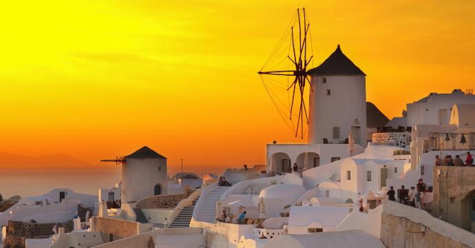Greece summer vacation