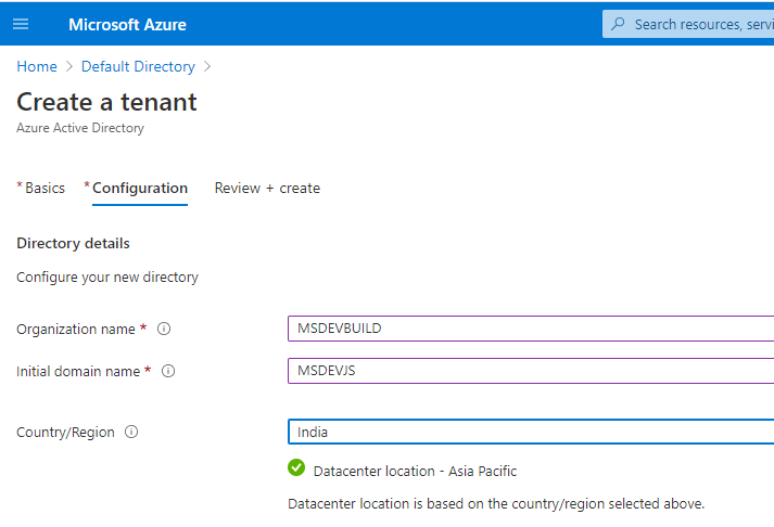 Azure Active Directory(AD) with Custom domain