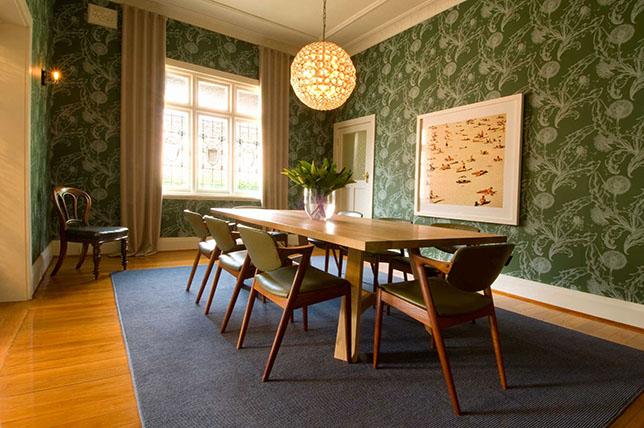 contemporary interior design wallpaper