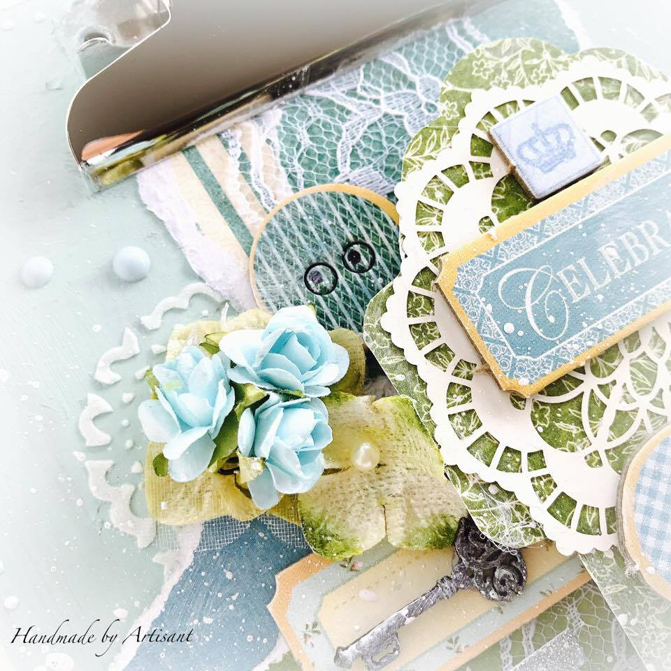 Once Upon a Springtime and Café Parisian altered note pad for G45, by Aneta Matuszewska photo 3.jpg