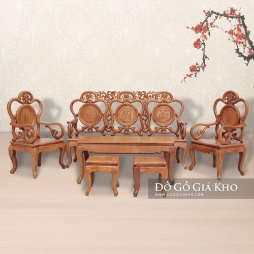 Top 10 bàn ghế gỗ giá rẻ, chất lượng nhất Tp.HCM